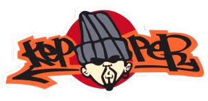 Kepper original sticker
