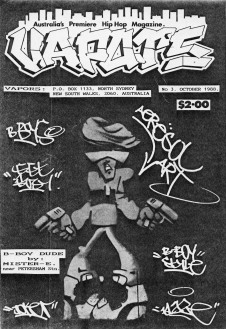 Sketch for Vapours Magazine, 1988